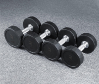 RUBBER DUMBBELL-DB6115R